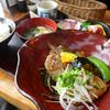 茶碗蒸しもお刺身も付いてる旬菜旬魚しろくのあら炊き定食@鹿児島県指宿市