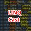 【C#,LINQ】Cast~配列やリストの要素を指定した型に変換したいとき~