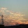 夕焼け空を見たのは久しぶり