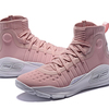 Under Armour Curry 4 Hight フラッシュピンク ジュニア/ウィメンズ Under Armour W-1298306-605 アンダーアーマー カリー 4 ハイト Flushed Pink kids/Wmns ジュニア/ウィメンズ バスケットボール シューズ