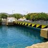 降開橋~こんな橋がギリシャにあるとは!~コリントス運河のイスミア橋