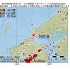 2016年09月05日 09時31分 山口県西部でM2.8の地震