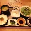 【白山市 ランチ】「翡翠麺定食」旬味にしで