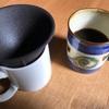セラミックで淹れたコーヒーはまろやかです