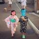 【四歳】近所のお祭りではじめての盆おどり。