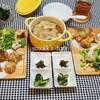 揚春巻の皮を必死に探して、作った夜ご飯/My Homemade Dinner/อาหารมื้อดึก