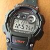バイブレーション付き腕時計【W-735H-8AJF】