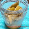 塩レモン・シーフードの和え物とカジキの焼き物