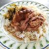 カオカームー(タイの豚足ご飯)