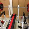 50kgダンベルフロアベンチ30回からのベンチプレス開始50日目→70kgが1回・・・