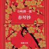谷崎潤一郎『春琴抄』についてこんなことを考えたこともあった。