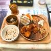 【cafe je jardin】で「若鶏のピリ辛ソース」ランチ|滋賀県|守山市