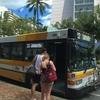 【女子一人旅】ハワイ観光の味方 ザ・バスに乗ってみた