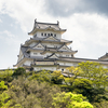 ■リハーサルの後に姫路城