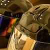 ヘルメット塗装-超久しぶり。