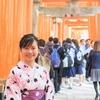 着物を着て外国人観光客に日本人と間違えられるベトナム人彼女