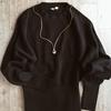ユニクロUのセーターで上品コーデ