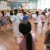 1年生:学習発表会の練習 立ち位置、隊形移動