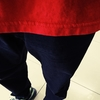 サラリーマン 親父  今日の コーディネート in 日常 の スーパーマーケット + オーギュスト プレゼンテーション 天竺 デニム で