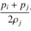 【SPH粒子法のプログラムをVBAで作ってみる】 7.各粒子の加速度、速度、変位の計算