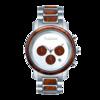 木と石で出来た腕時計
