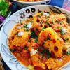 鶏肉と蓮根の無水カレー(動画レシピ)/Curry with chicken and lotus roots.