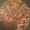 海老の殻を使ってスープを作る