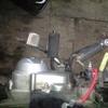 プレスカブ4号機 ブレーキペダル修正