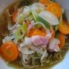 鶏油野菜麺