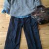 【少ない服で着回す】デニムワイドパンツでつくる冬の上品💛カジュアルコーディネート5パターン