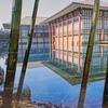 【発掘・EXPO70(12)】中宮寺がモデル 水面に映える天平の赤と竹林の緑【松下幸之助さんが投じた一石】