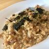 【レシピ】チーズと海苔の旨味の共存。桃屋の『ごはんですよ!』を使った海苔とチーズのリゾット