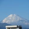 富士山、たった一日で冠雪!