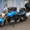 R1200R四国カルスト幼馴染ツーリング前日:陸送バイク受け取り、うどん「つるや」とバーベキュー
