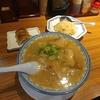 天神【元祖赤のれん 節ちゃんラーメン 天神本店】ラーメン定食 ¥750