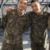 軍服とメイク