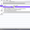 Create a Certificate (iOS7)