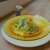 エメラルド色をした素麺