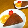 お菓子作り、チョコケーキ!!