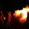 火まつりの始まり - 勝部の火まつり