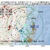2017年08月25日 14時27分 岩手県沖でM3.0の地震