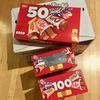 ハロウィン前日なのにハロウィン用のお菓子が半額になっていました。