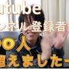 Youtubeチャンネル登録100突破!ありがとう!始めたきっかけと今後の動画投稿について