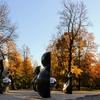 【観光】リガ最古の公園「ヴィエストゥラ公園」(秋)