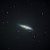 重力的に支配を受ける銀河 M82 おおぐま座