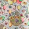 クーピーも使って風船とお花の塗り絵「森が奏でるラプソディー」より