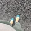 本日の通勤服: やっぱり可愛い靴が好き。