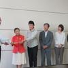 6日、福島市内をオスプレイが低空飛行したとして、市議団とともに市に対し国に抗議するよう申し入れ。
