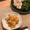 卵チャーハン、ブロッコリーと焼売