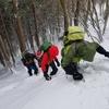 登山学校実技講座 雪山中級